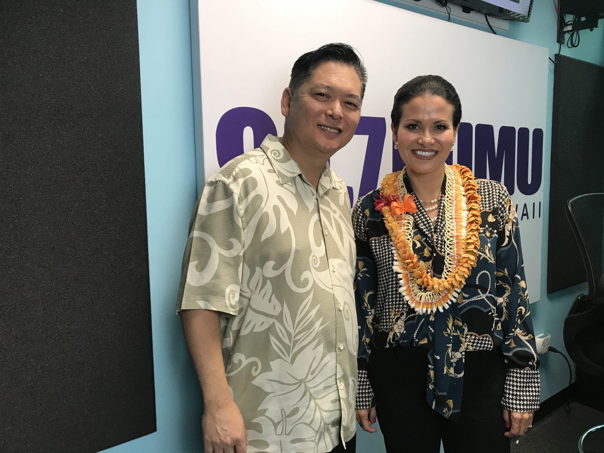 Hawaii Matters Host Devon Nekoba with Mayoral Candidate Kymberly Pine