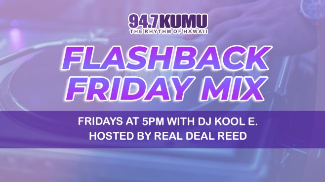 Flashback Friday Mix Fridays at 5pm with DJ Kool E hosted by Real Deal Reed